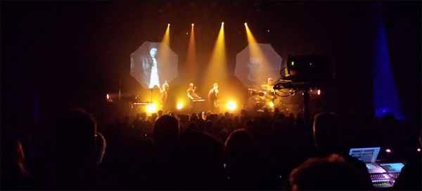Carpark North playing Vejle Musikteater, March 22, 2014
