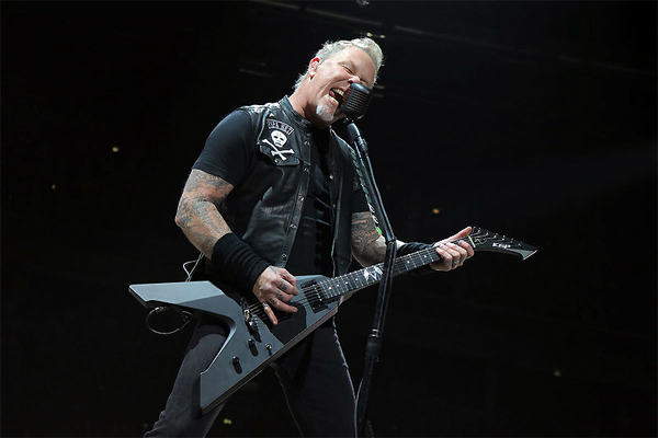 James Hetfield, Metallica (c) Jeff Yeager