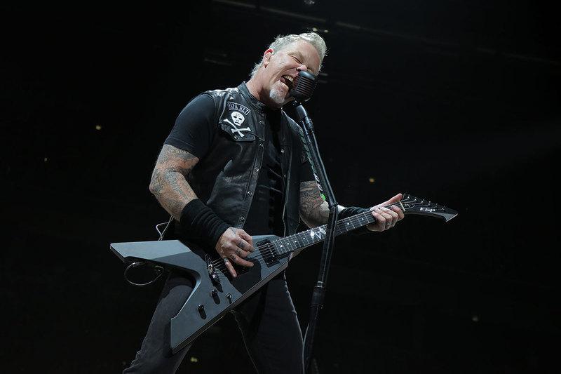 James Hetfield, Metallica, 2018