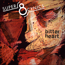 "Super 8 Cynics - debut single ""Bitter Heart"" - Ricky Gervais cover"